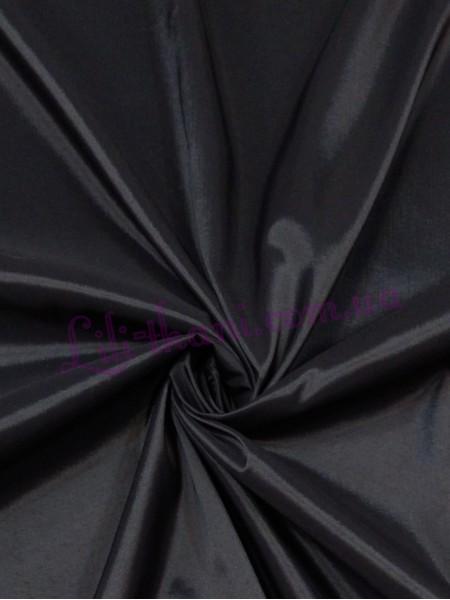 Подкладка стрейчевая черного цвета