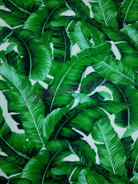 """Креп-шелк """"Банановые листья"""""""