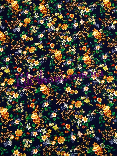 Шифон в мелкие цветы