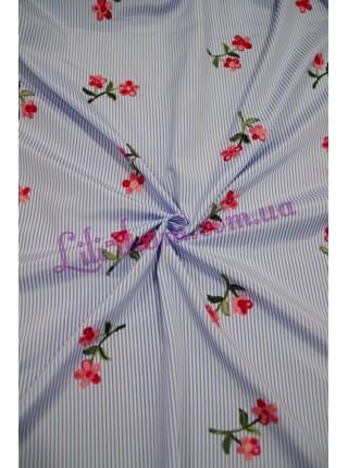 """Рубашечная с вышивкой """"Цветочки"""""""